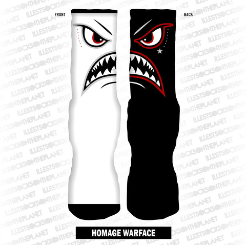 HOMAGE WARFACE (SOCKS)