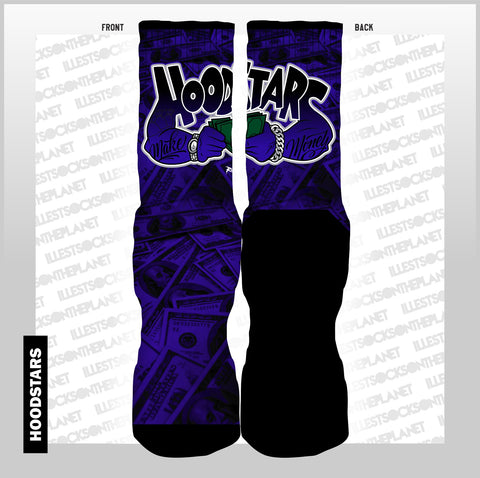HOODSTARS (SOCKS)