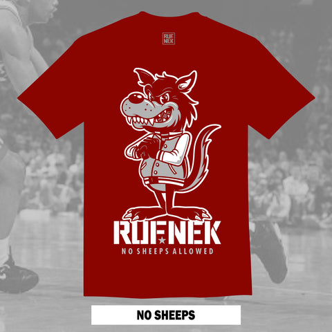 NO SHEEPS (RED SHIRT)
