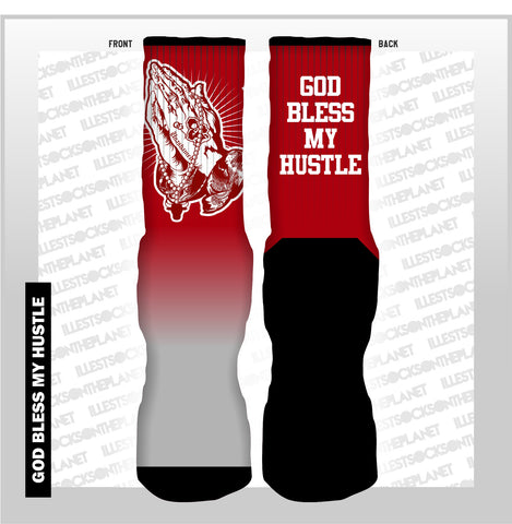 GOD BLESS MY HUSTLE (SOCKS)