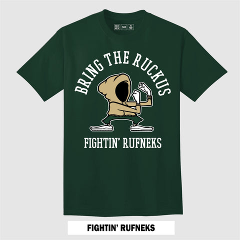 FIGHTING RUFNEK'S (GREEN T-Shirt)
