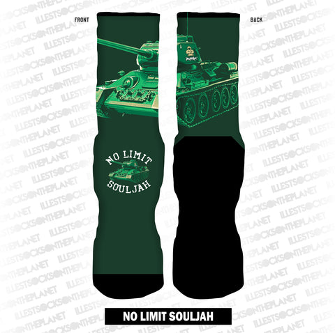 NO LIMIT SOULJAH (SOCKS)