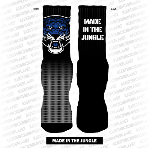 MADE IN THE JUNGLE (ROYAL SOCKS)