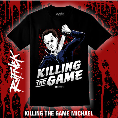 MICHAEL-KILLING THE GAME  (BLACK SHIRT)