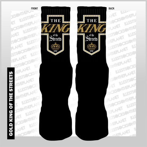 KING OF THE STREETS -GOLD- (SOCKS)