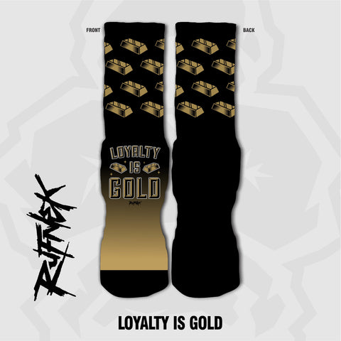 LOYALTY IS GOLD (SOCKS)