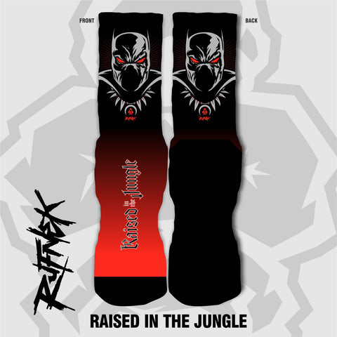 RAISED IN THE JUNGLE (SOCKS)