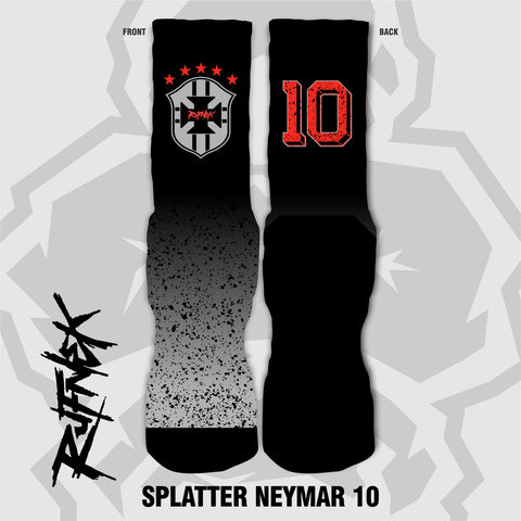 SPLATTER NEYMAR 10 (SOCKS)