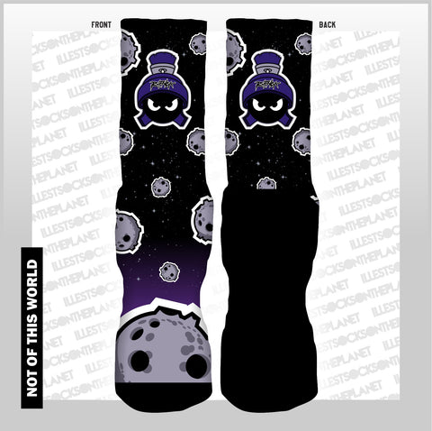 NOT OF THIS WORLD SPACE JAM (SOCKS)