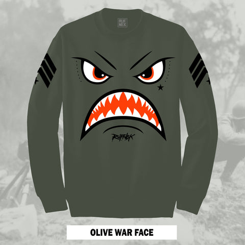 OLIVE WARFACE (OLIVE CREWNECK)