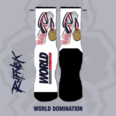WORLD DOMINATION (SOCKS)
