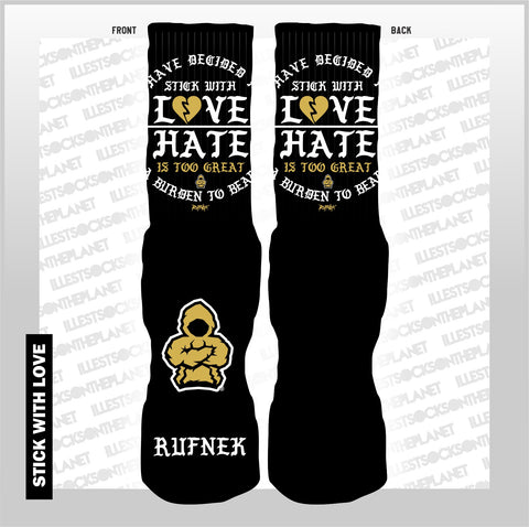BHM-STICK WITH LOVE (SOCKS)
