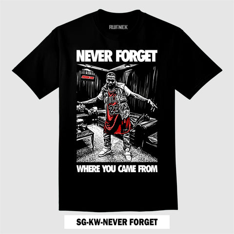 SWOOSH GODZ-KW-NEVER FORGET (T-Shirt)