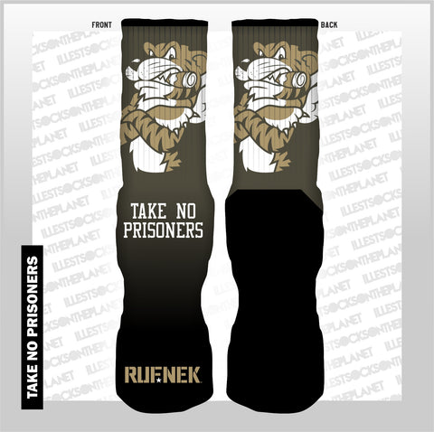 TAKE NO PRISONERS (SOCKS)