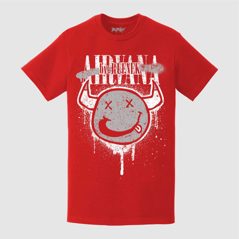 AIRVANA (RED TEE)