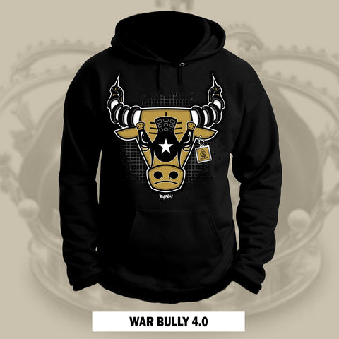 WAR BULLY 4.0 -GOLD- (BLACK HOODIE)