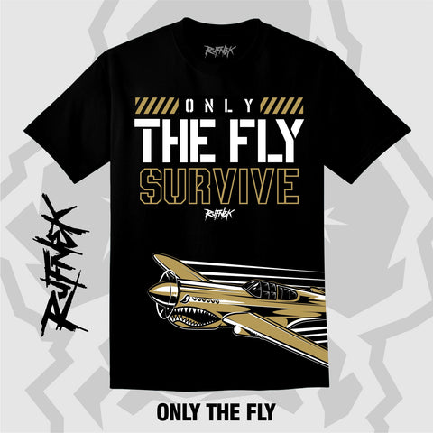 ONLY THE FLY (BLACK SHIRT)