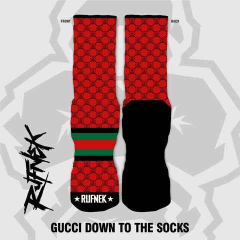Gucci down to the socks (socks)