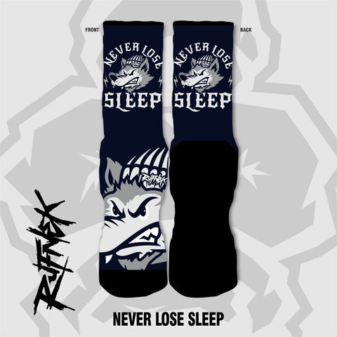 NEVER LOSE SLEEP (SOCKS)