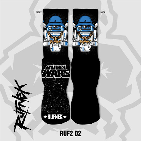RUF2-D2  - BULLY WARS (SOCKS)