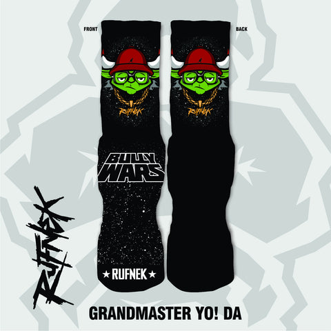 GRANDMASTER YO! DA  - BULLY WARS (SOCKS)