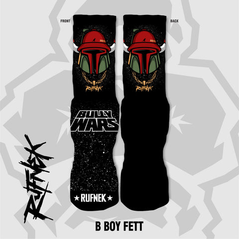 B-BOY FETT - BULLY WARS (SOCKS)