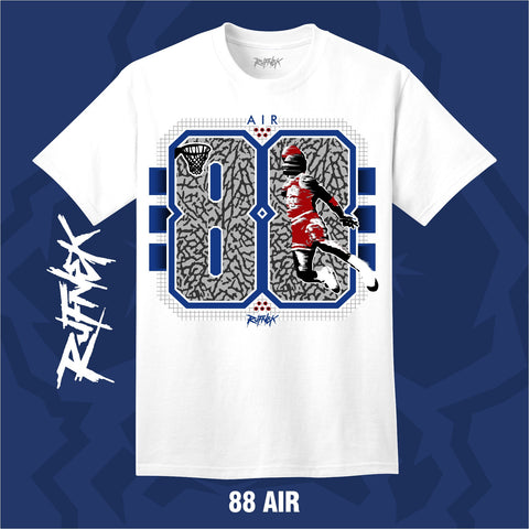 TRUE BLUE 88 AIR (WHITE SHIRT)