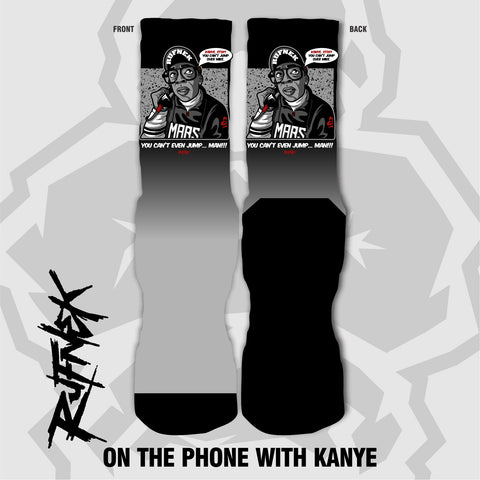 ON THE PHONE WITH KANYE (SOCKS)