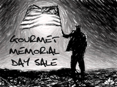 Gourmet Everything Memorial Day Sale
