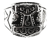 Ring Thorshammer Gr. 58-76 (th31)- Edelstahl