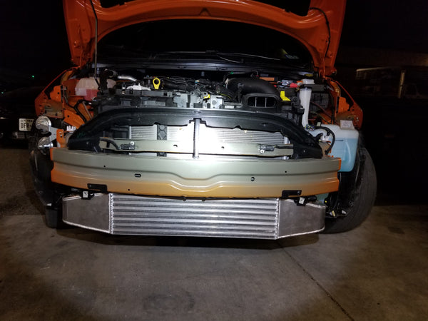 fiesta st race intercooler