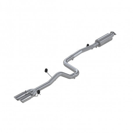 Fiests ST MBRP Cat Back Exhaust