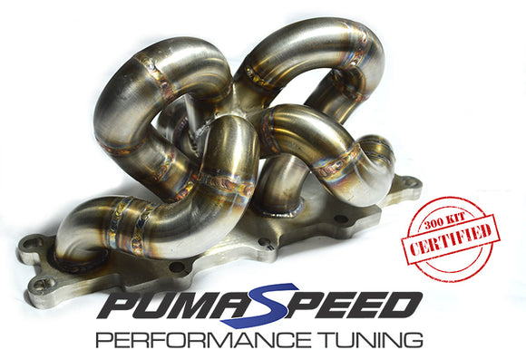 Fiesta ST Pumaspeed R-Sport Quickspool Tubular Turbo Manifold