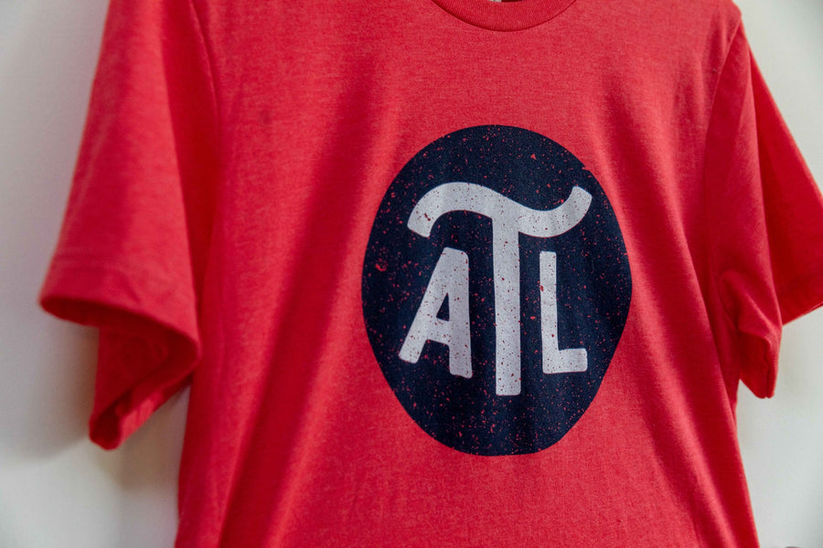 ATL Current - Heather Red Tee