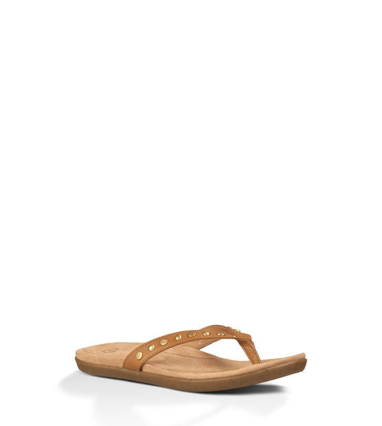 UGG LYNDI SANDAL IN CHESTNUT - decadenceboutique - 1