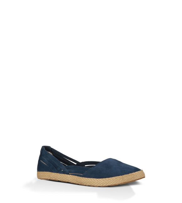 UGG CICILY SLIP ONS IN NAVY - decadenceboutique - 1