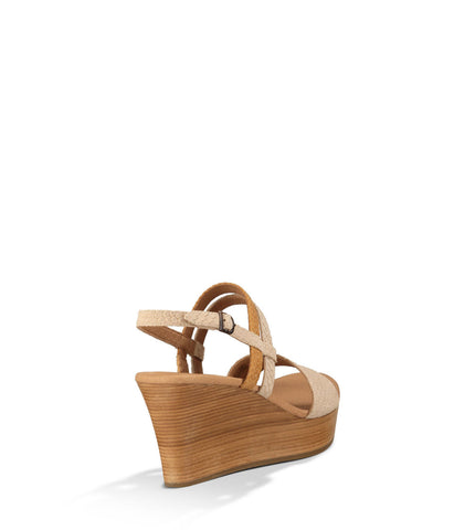 UGG LIRA MAR WEDGE IN PEARL