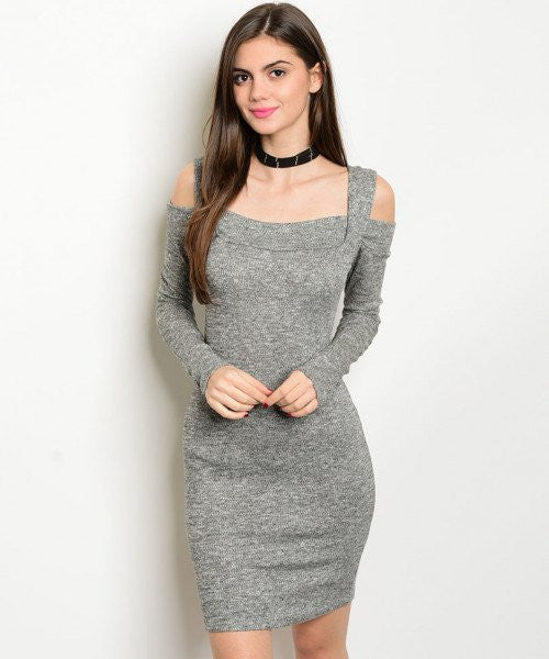 NEW RESOLUTIONS DRESS IN GREY - decadenceboutique