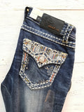 GRACE IN L.A UPS & DOWNS BOOTCUT JEANS - decadenceboutique - 1