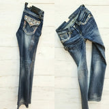 GRACE IN L.A UPS & DOWNS BOOTCUT JEANS - decadenceboutique - 2
