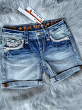 ROCK REVIVAL KATELL RH400 EASY SHORTS