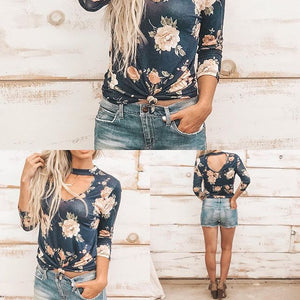 CENTRAL PARK TOP IN NAVY