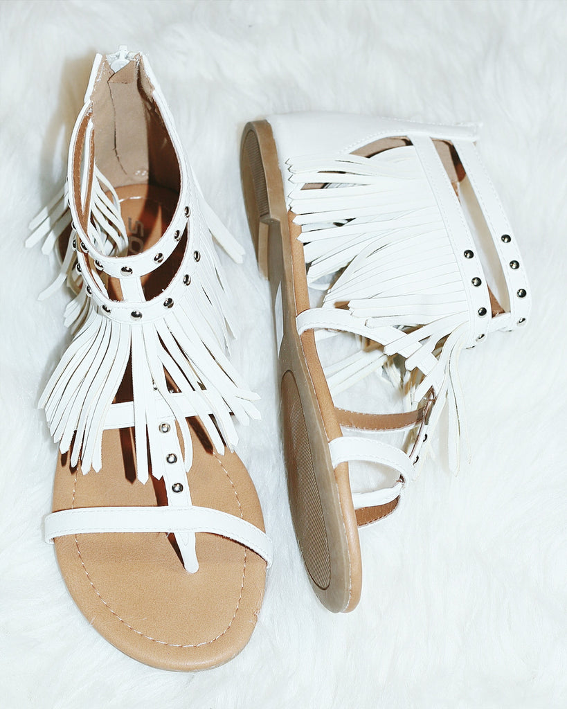 MYSTIC MOONLIGHT SANDALS IN WHITE - decadenceboutique