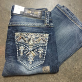 GRACE IN L.A. PIONEER BOOTCUT JEANS - decadenceboutique - 2