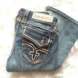 ROCK REVIVAL KAILYN B26 BOOTCUT JEANS - decadenceboutique