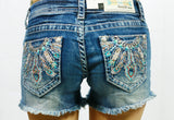 GRACE IN L.A. SHOW YOUR FEATHERS SHORTS - decadenceboutique - 2