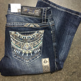 GRACE IN L.A. MYAN MYTHS BOOTCUT JEANS - decadenceboutique - 3