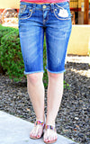 GRACE IN L.A. DANA POINT BERMUDA SHORTS - decadenceboutique - 2