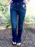 GRACE IN L.A. NEBULA BOOTCUT JEANS - decadenceboutique - 3