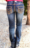 GRACE IN L.A. GO WITH THE FLOW BOOTCUT JEANS - decadenceboutique - 3
